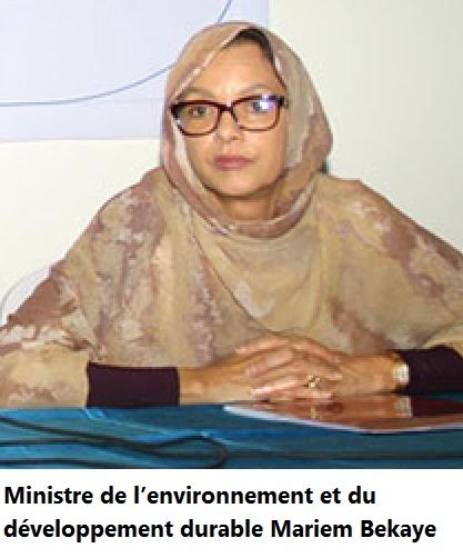 """Résultat de recherche d'images pour """"mint bekaye ministre environnement"""""""