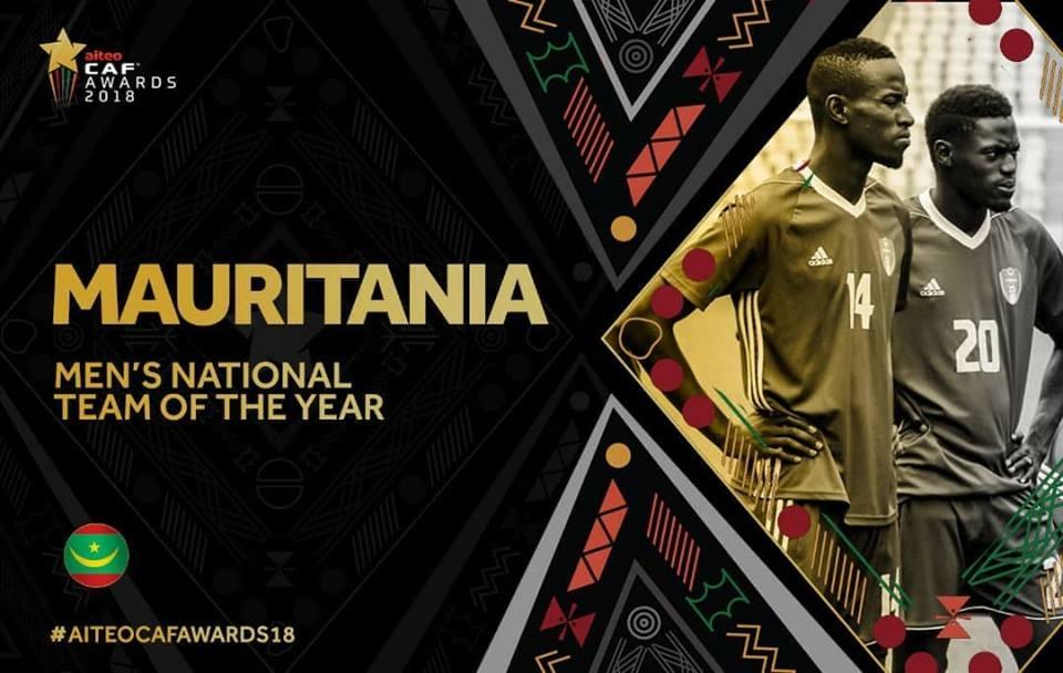 جوائز الاتحاد الافريقي - موريتانيا تحصد جائزة أفضل منتخب افريقي