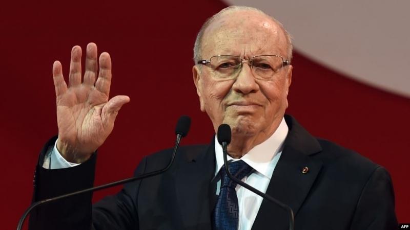 الرئيس التونسي الراحل - الباجي قائد السبسي (المصدر:الانترنت)