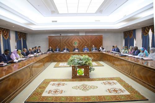 الاجتماع الأسبوعي لمجلس الوزراء - المصدر: وما