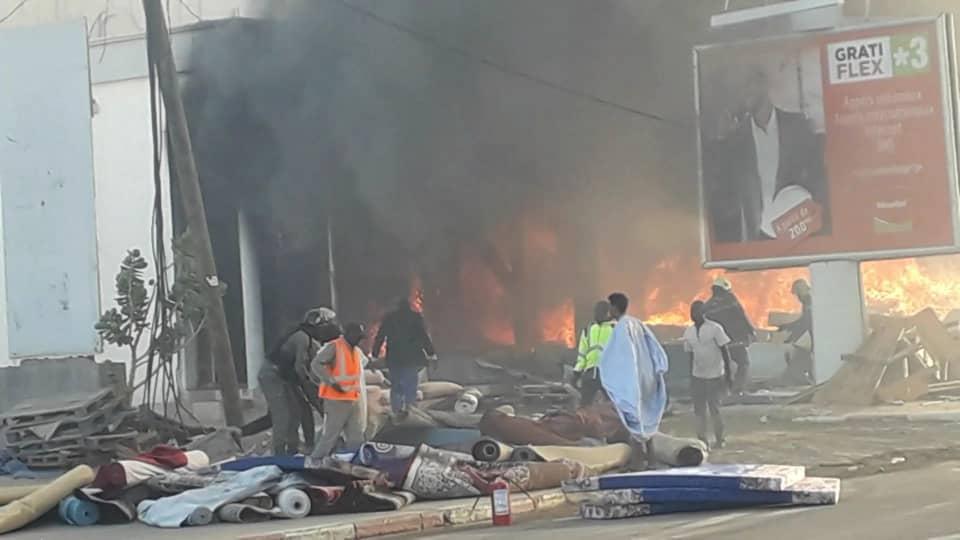 صورة من الحريق (انترنت)