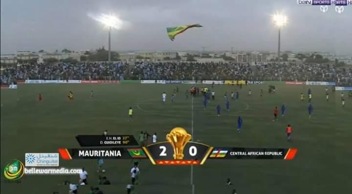 نتيجة المباراة التي واكبتها احتفالات واسعة في نواكشوط