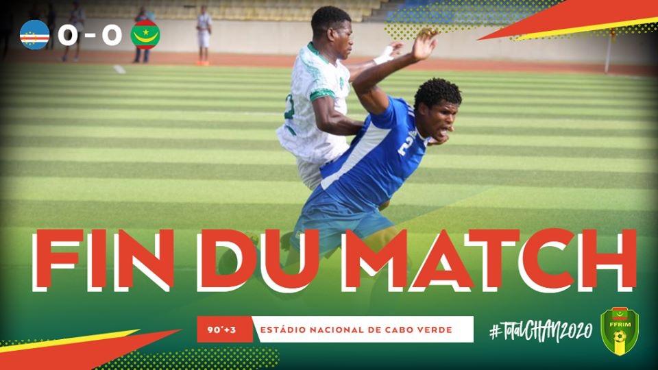 نهاية المباراة بالتعادل السلبي 0-0 (المصدر:FFRIM)