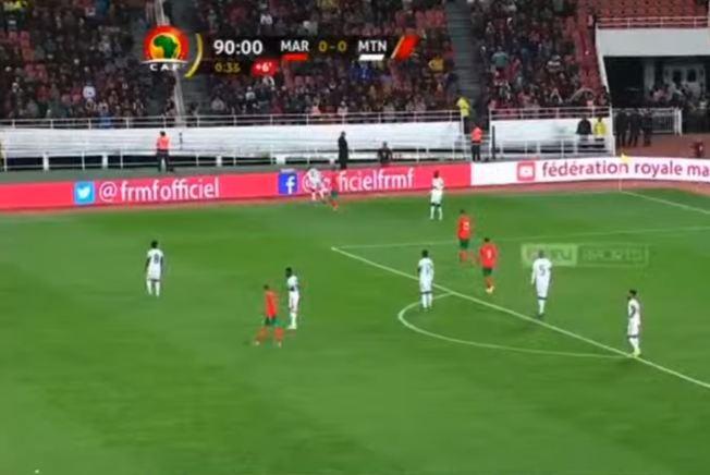 توثيق نهاية المباراة بالتعادل دون أهداف