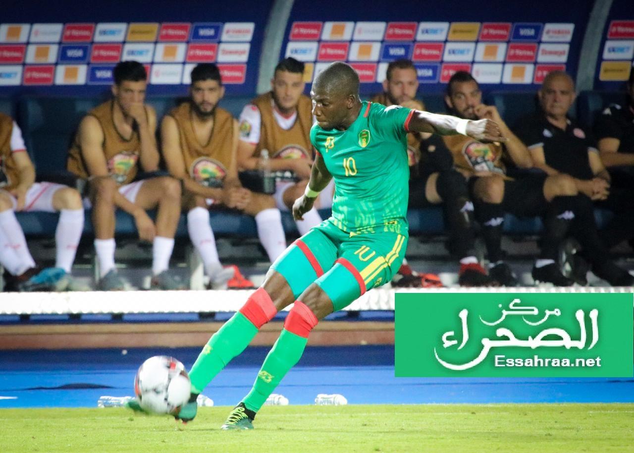 نجم المنتخب الوطني أداما با - (المصدر: الصحراء)