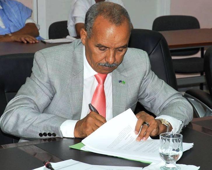 رئيس البرلمان الشيخ ولد باية - (المصدر: الإنترنت)