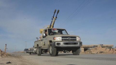 """آليات للجيش الليبي """"أرشيفية"""""""