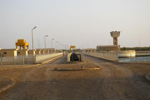 الحدود الموريتانية-السنغالية-(المصدر: الانترنت)