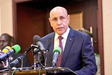 الرئيس ولد الشيخ الغزواني (المصدر: الرئاسة المالية)