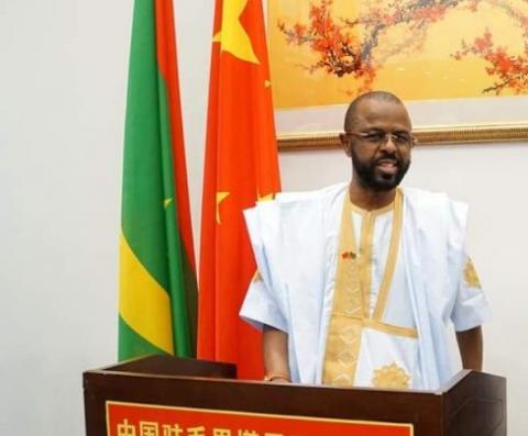 رئيس الجالية الموريتانية بالصين (المصدر: انترنت)