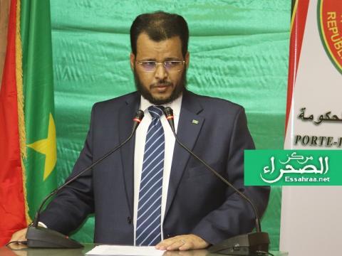 وزير الشؤون الإسلامية الداه ولد أعمر طالب(المصدر: الصحراء)