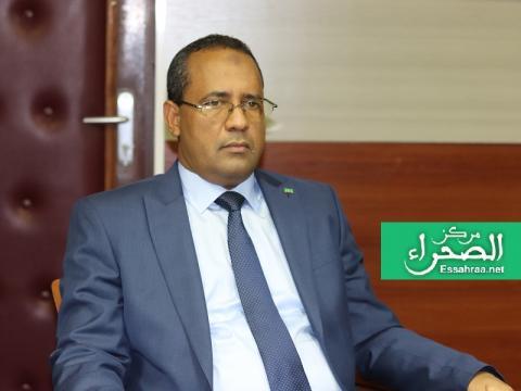 وزير التجهيز والنقل محمدوولدامحيميد (المصدر: إرشيف الصحراء)