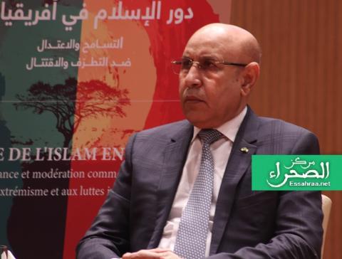 الرئيس محمد ولد الشيخ الغزواني (المصدر: انترنت)