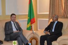 وزير الدفاع يستقبل سفير الولايات المتحدة بانواكشوط ـ (المصدر: موقع الجيش)