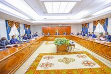 إحدى إجتمعات مجلس الوزراء