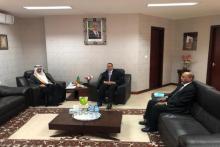 وزير الخارجية بلتقي السفير السعودي بانواكشوط (المصدر: وما)