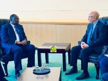 الرئيس غزواني رفقة نظيره السنغالي - (المصدر: وما)