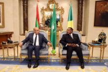 الرئيس غزواني يجري مباحثات مع الرئيس الكونغولي (المصدر: وما)
