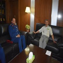الفريق ابرور في لقاء مع قائد الوفد الإماراتي خلال زيارته لنواكشوط