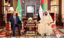 الرئيس غزواني يلتقي حاكم دبي (المصدر: انترنت)
