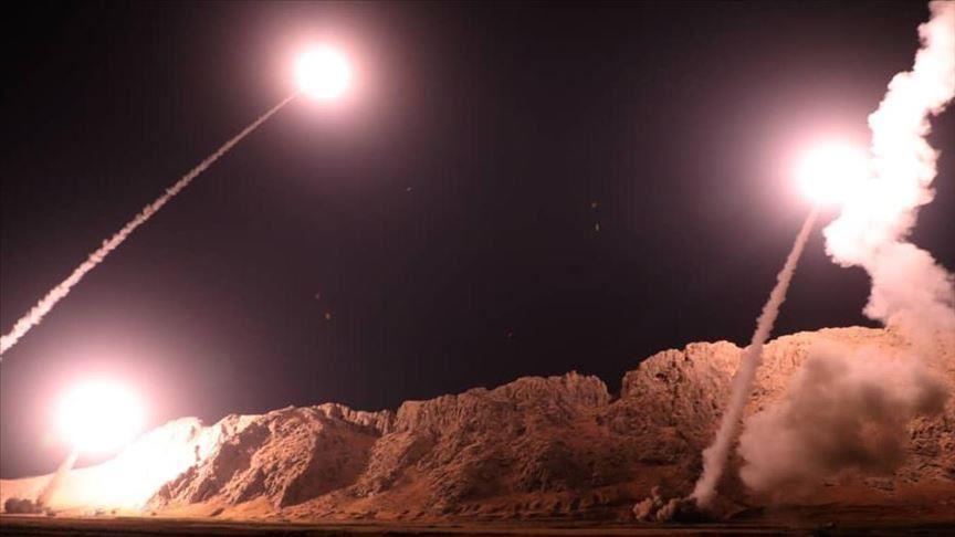 الهجوم الذي استهدف قاعدة عين الأسد - (المصدر:انترنت)