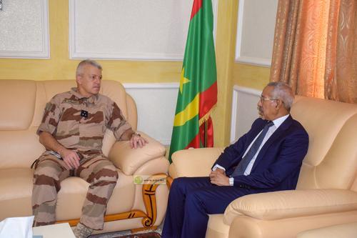 Hanena reçoit sur fond de la crise au Tchad le Commandant de Barkhane