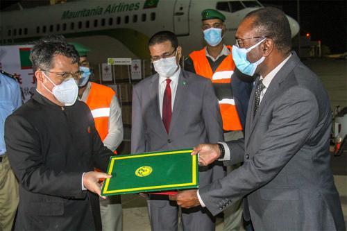 Covid: La Mauritanie réceptionne 50 mille doses du vaccin chinois Sinopharm