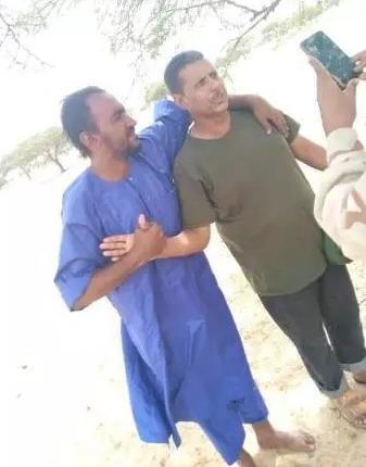 Premières images des mauritaniens enlevés au Mali après leur libération