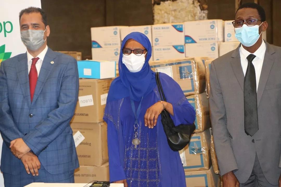 BP soutient la Mauritanie dans sa lutte contre la pandémie de la Covid-19