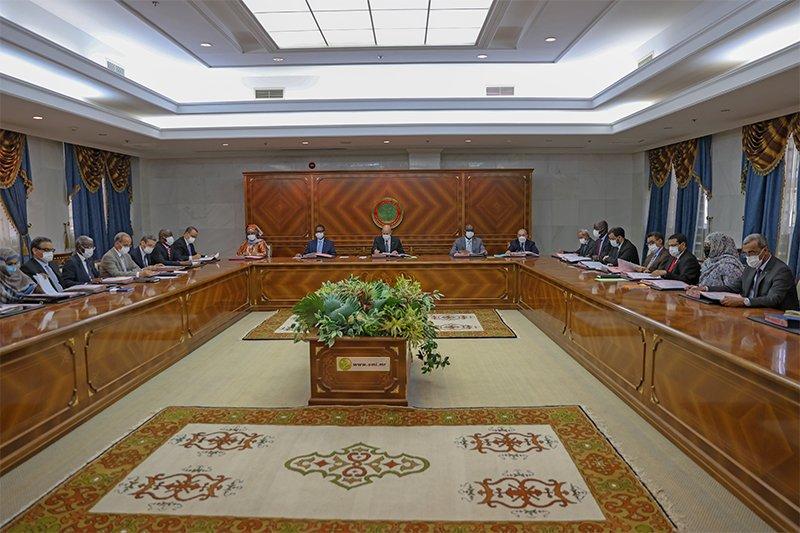 Mesures individuelles à la fin de la réunion du gouvernement (Communiqué)