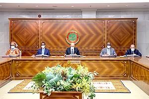 Le Conseil des ministres hebdomadaire avancé