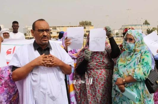 Les créancières de Cheikh Ridha manifestent pour exiger le règlement de leur dossier …Photos