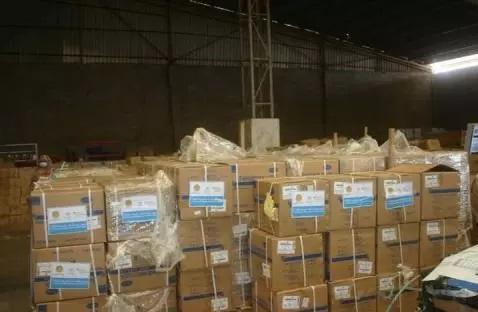 L'OMS remet un million de masques au ministère de la santé