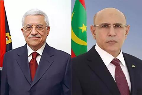Ghazouani à Abou Mazen : Nous suivons de près la situation en Palestine