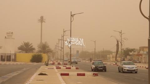 Météo ; prévision de visibilité réduite par sable dans le Nord et le Nord Est