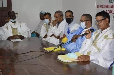 """Le """"Rassemblement nous sommes tous mauritaniens""""; adhère à la CVE (Photos)"""