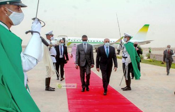 Le Président regagne la capitale Nouakchott en provenance de Paris