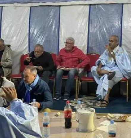 Arrivée de touristes européens à Nouakchott après le recul du Covid-19
