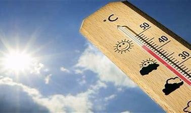 Prévision de températures élevées dans la plupart des zones du pays