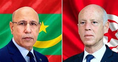 Echanges téléphoniques entre les présidents mauritanien et tunisien
