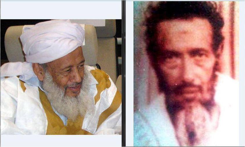 heikh Addoud à gauche et Cheikh Mohamed Ali à droite