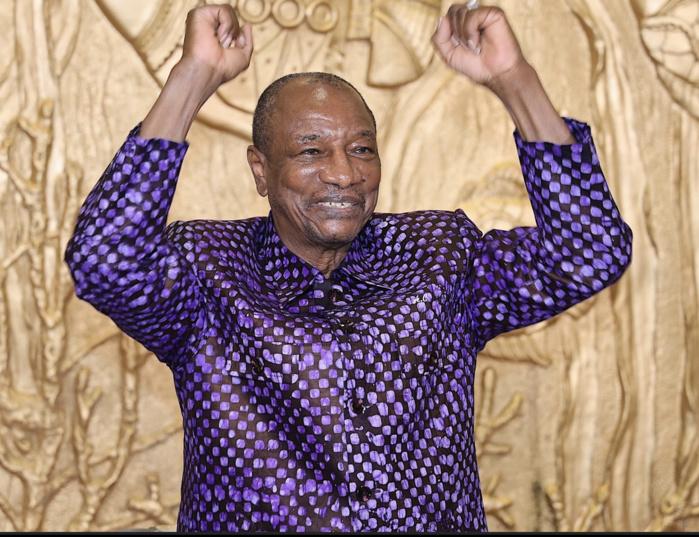 Guinée -présidentielle  Victoire du candidat sortant
