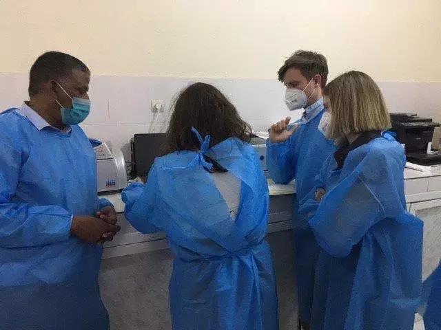 L'Allemagne soutient la Mauritanie avec des experts médicaux (photos)