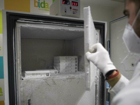 Réception de 4 congélateurs de stockage et de conservation des vaccins