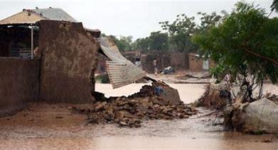 Pluies au Gorgol : Effondrement de deux maisons et de quatre baraques