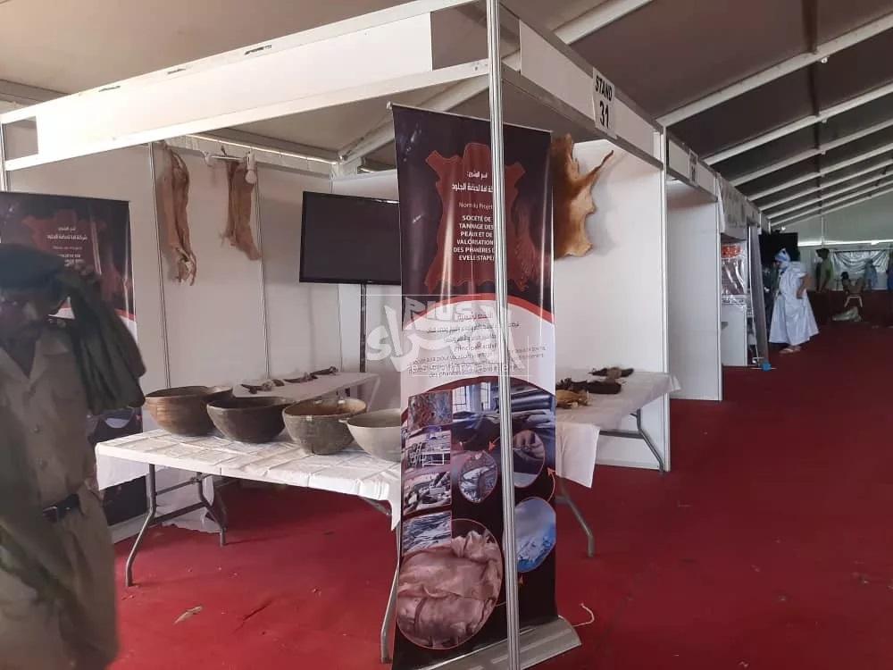 Photos sur les préparatifs d'ouverture de la foire de l'élevage à Timbedra