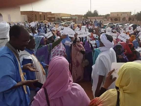Les enseignants protestent contre les tests d'évaluation du ministère …photos