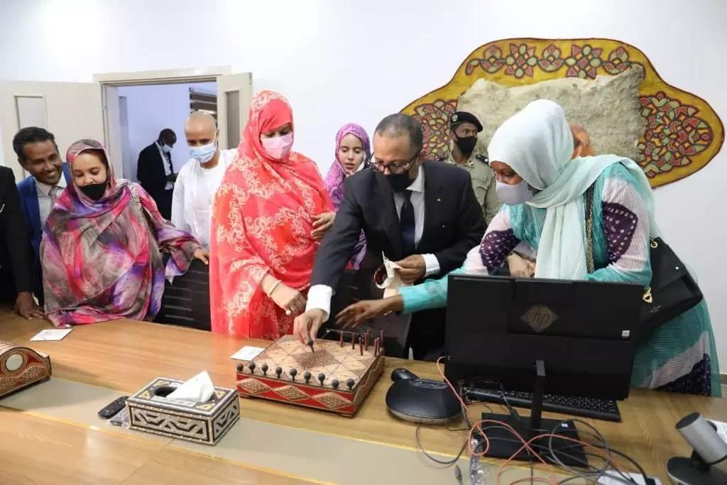 La Ministre du Commerce inaugure un Commissariat général aux Expos