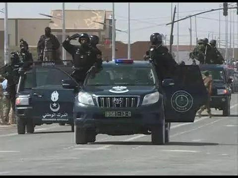 Arrestation de la gendarmerie de 40 migrants illégaux à Nouakchott