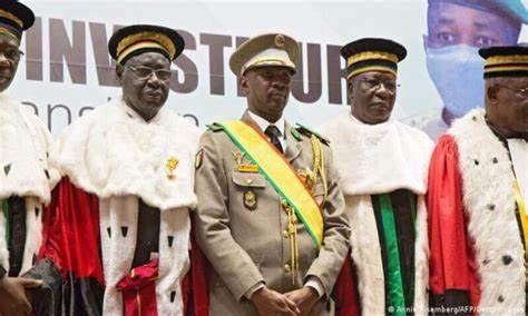 Mali : investi Président,Goïta confirme la tenue d'élections crédibles